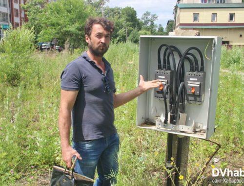 Гиви обнаружил «смертельную зону» в центре Биробиджана