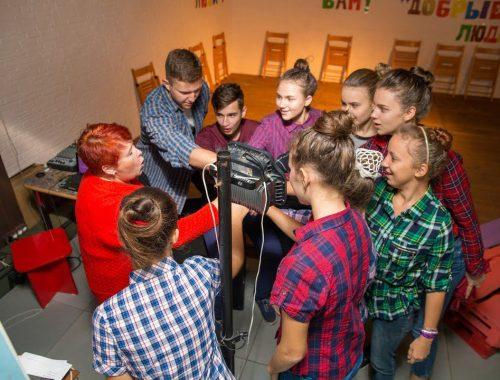 Театр-студия «Добрые люди» продолжает набор юных артистов
