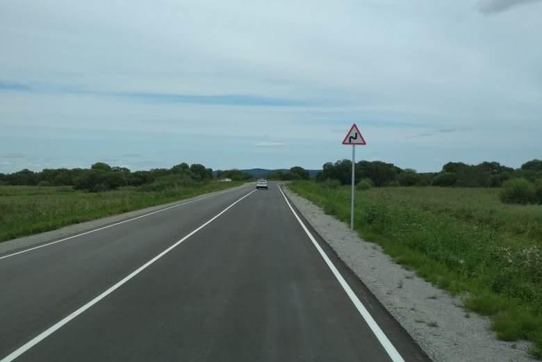 В районе села Красивое восстановили размытую дорогу