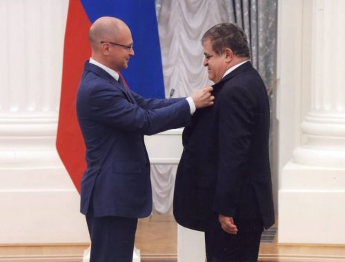 Сенатор от ЕАО Владимир Джабаров награждён орденом Александра Невского