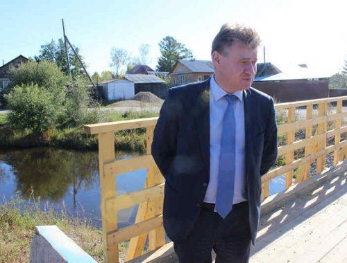 Очередная поездка мэра на Железнодорожный посёлок обошлась без побега