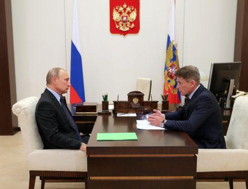 Кремль отправил на выборы губернатора Приморья Олега Кожемяко