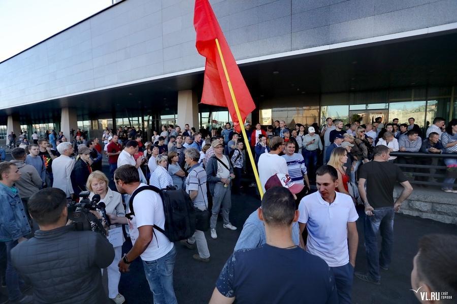 Коммунисты Приморья не стали выдвигать кандидата на губернаторские выборы