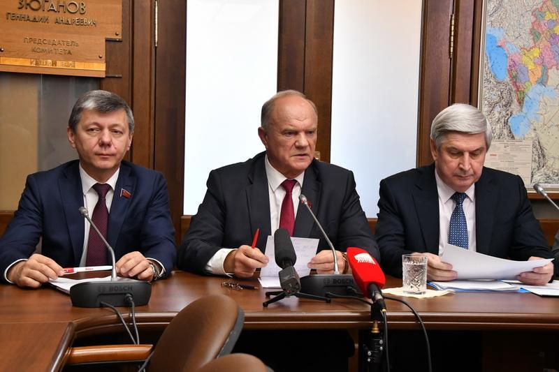 Геннадий Зюганов: выборы в Приморском крае – это «политический Чернобыль»