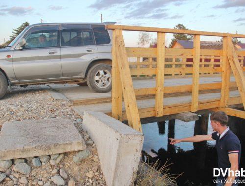 Дорожные ямы на окраинах Биробиджана стали еще больше после ремонта