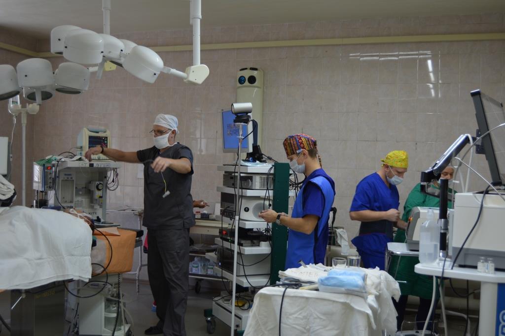 Ведущие урологи Дальнего Востока делятся опытом на научно-практической конференции в областной больнице Биробиджана