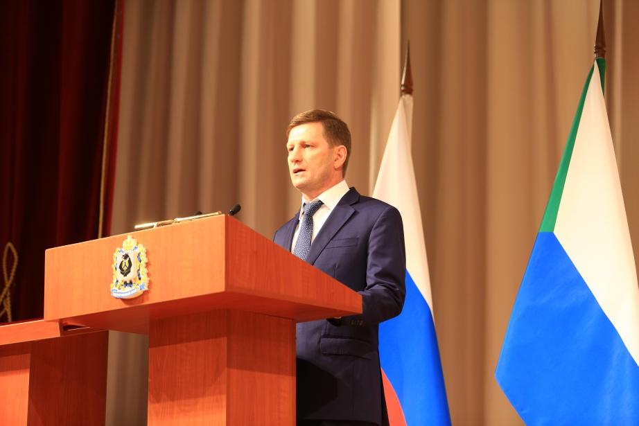 Фургал внёс законопроект о всенародных выборах глав районов Хабаровского края
