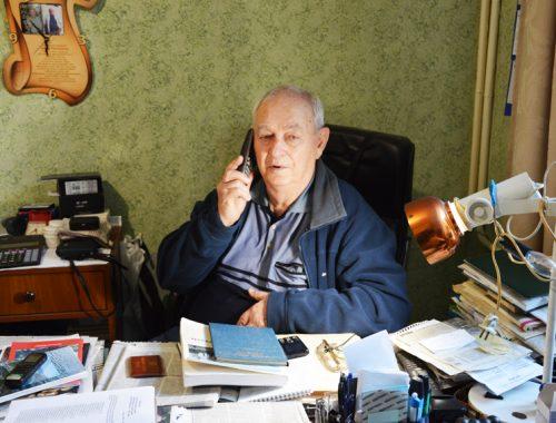 88 лет исполнилось почётному жителю ЕАО Марку Матвеевичу Кауфману