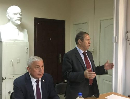 Николай Харитонов встретился с коммунистами Еврейской автономной области