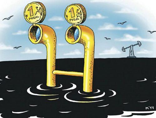Внешний долг съел все нефтяные доходы России