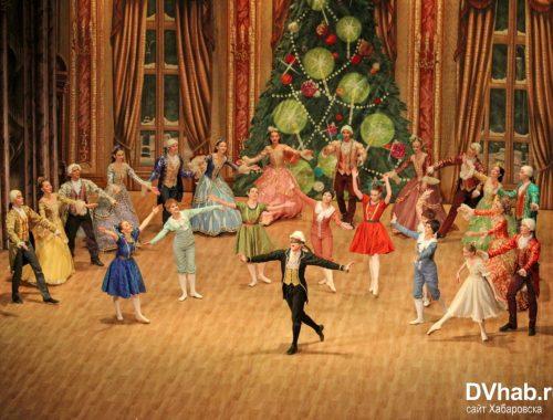 Артисты Русского классического балета показали спектакль «Щелкунчик» в Биробиджане
