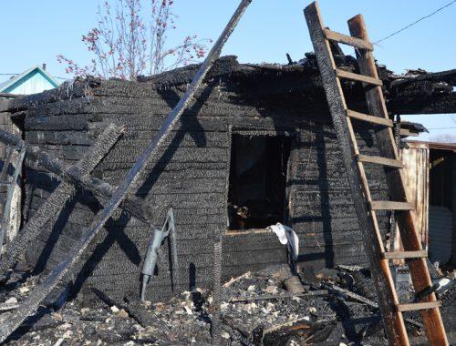 Следком возбудил уголовное дело по факту гибели ребёнка при пожаре в селе Кукелево