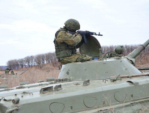 В ЕАО проходят учения мотострелковой бригады