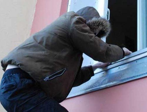 В Биробиджане мужчина вытащил через кухонное окно технику на 33 тысячи рублей