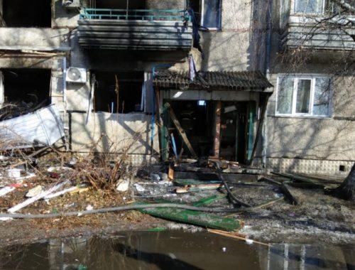 В Приамурском после взрыва газа почти 30 квартир признаны непригодными для проживания