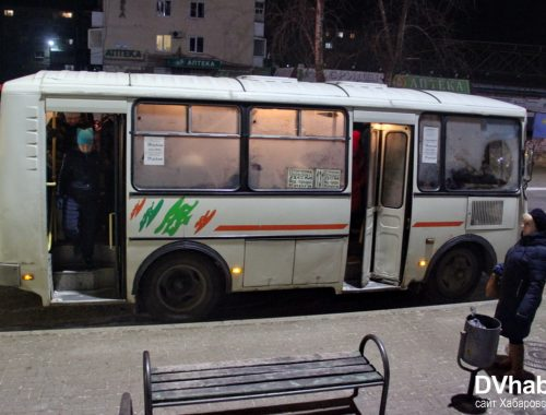 Штурмом берут пригородный автобус жители двух сел Биробиджанского района