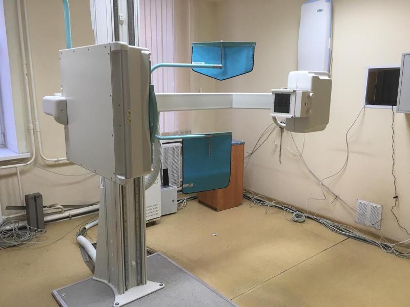 Новый цифровой флюорограф заработал в областной поликлинике