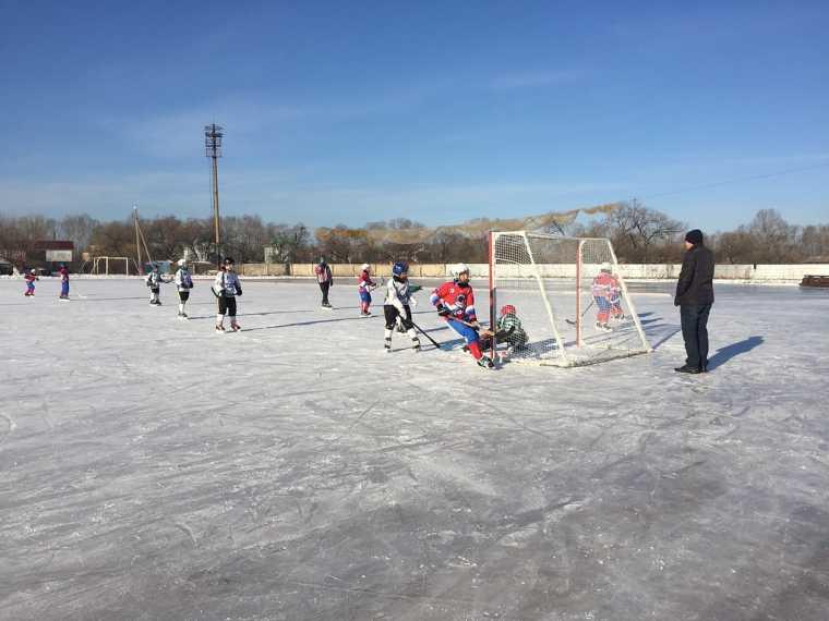 Соревнования по хоккею с мячом среди детей прошли в Биробиджане