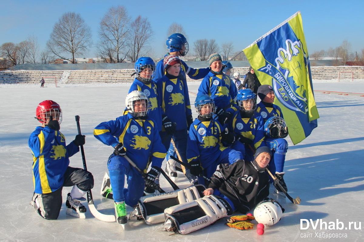 В Биробиджане наградили призеров Рождественского хоккейного турнира