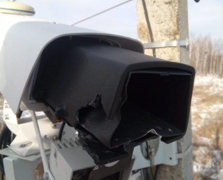 В Смидовичском районе повредили две камеры видеофиксации