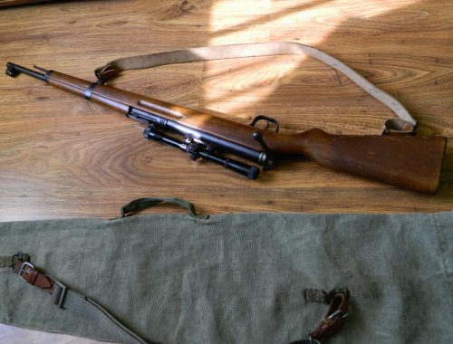 Самодельную винтовку изъяли полицейские у жителя Биры