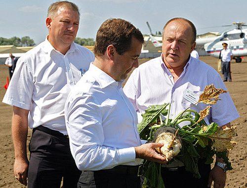 Медведев рассказал сенаторам, как правильно произносить слово «свёкла»