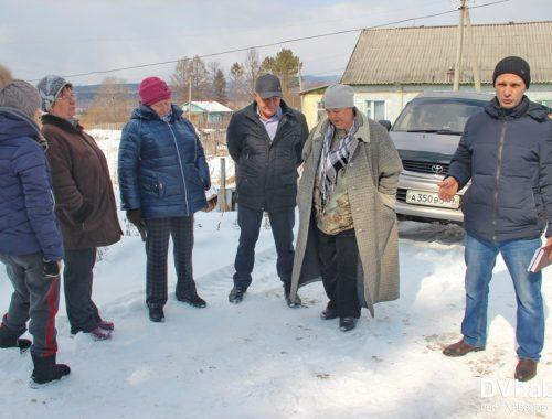 Жители поселка Известковый выступают против присоединения к городу Облучье