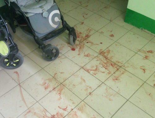 Кровавый мордобой у детских колясок в пасхальную ночь: полуголый мужчина устроил пьяный дебош в «Бирграде»
