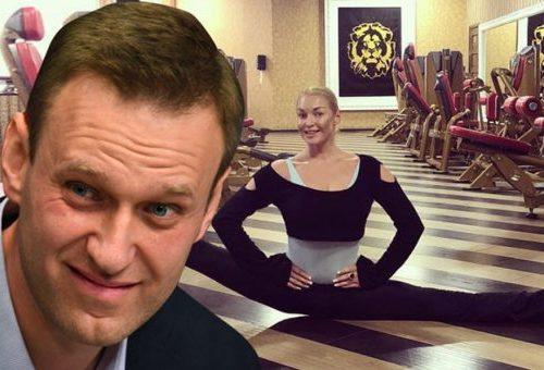 Волочкова вызвала Навального на «шпагатную дуэль»