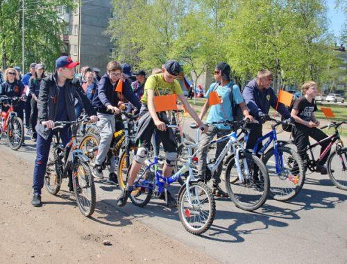 Дню Победы посвятили велопробег в Биробиджане