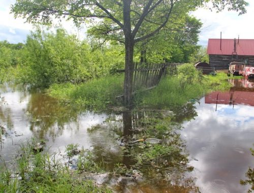 На власть не надейся и сам не плошай: жители Тукалевского самостоятельно отразили первый натиск водной стихии
