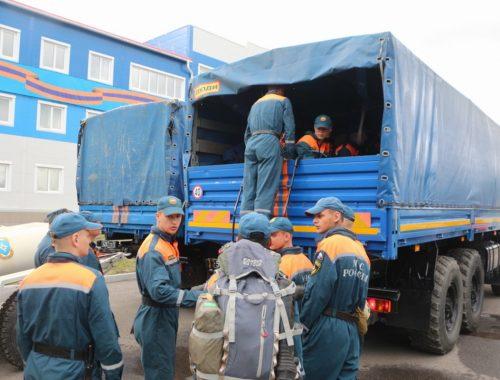 Отряд МЧС из Хабаровска поможет спасать от наводнения жителей ЕАО