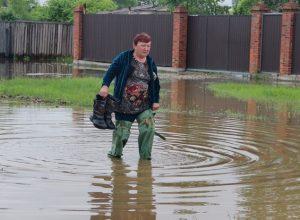 В Биробиджане введён режим ЧС: тонут городские окраины, дачники на Щукинке оказались отрезанными от «большой земли»