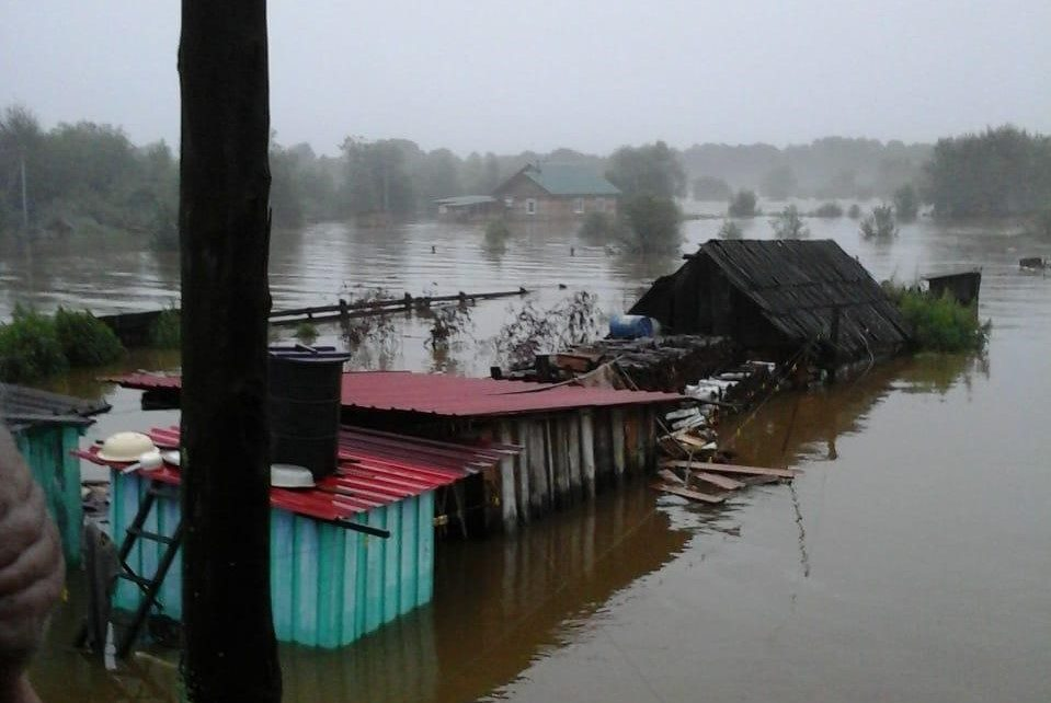 Росгидромет ожидает ухудшения паводковой ситуации на Дальнем Востоке