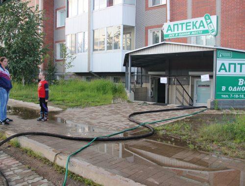 Чиновники и коммунальщики Биробиджана не замечают тонущую аптеку