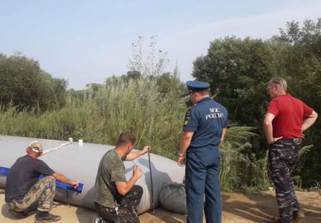 Группа спасателей выехала в Ленинский район ЕАО