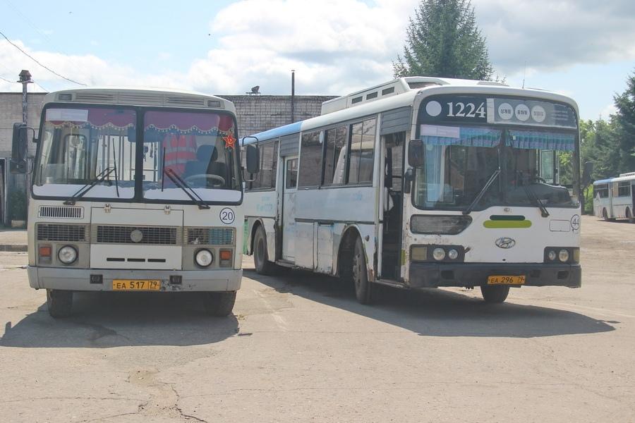 В Биробиджане возобновилось движение автобусов по дачным маршрутам