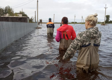 Ущерб от паводка в ЕАО составил приблизительно 1,2 млрд рублей