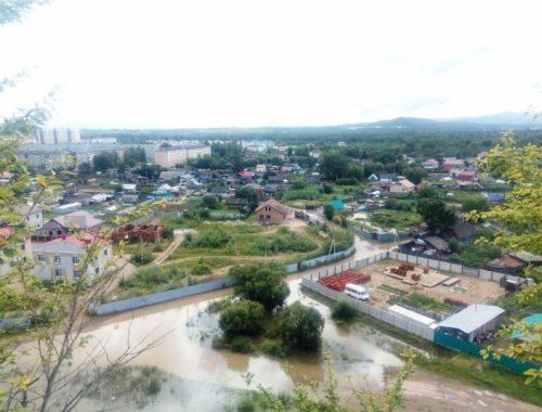 Наводнение наступает: почти 800 участков и 100 домов затоплено в Биробиджане