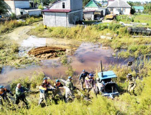 Волна паводка сместилась на территорию Смидовичского района ЕАО