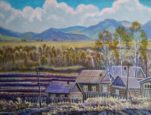В областном Музее современного искусства проходит выставка Валентина Коровина