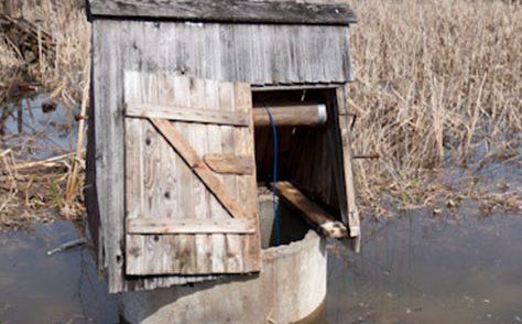В Биробиджане из-за паводка подтопило колодцы с питьевой водой