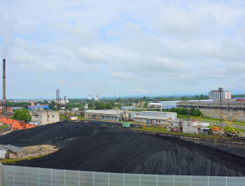 Полуторамесячный запас угля сформировала Биробиджанская ТЭЦ к началу отопительного сезона