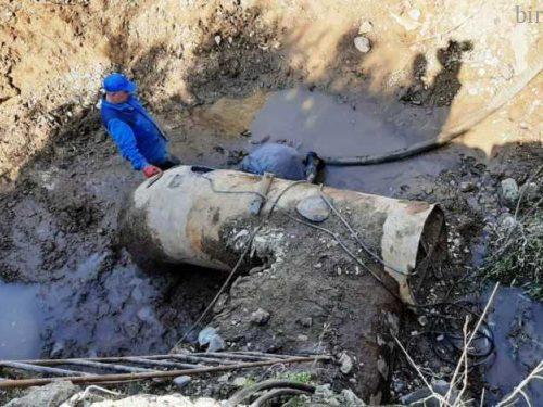 Перекачка канализационных вод временно прекратилась в Биробиджане — не выдержал напора изношенный коллектор