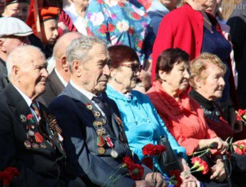 В Биробиджане прошёл митинг по случаю 74-й годовщины окончания Второй мировой войны