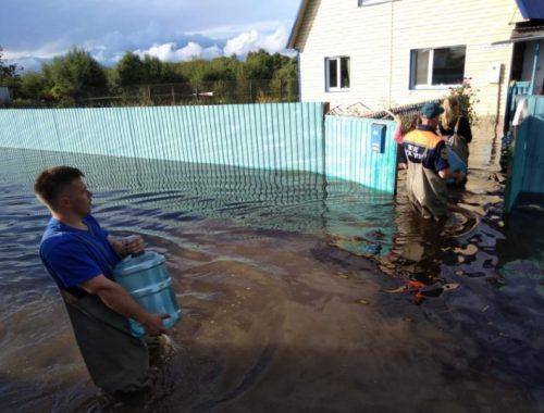 Дожди негативно сказались на паводковой ситуации в ЕАО — число затопленных домов возросло до 187
