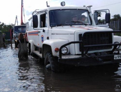 Режим ЧС межрегионального характера ввели из-за паводка на Амуре