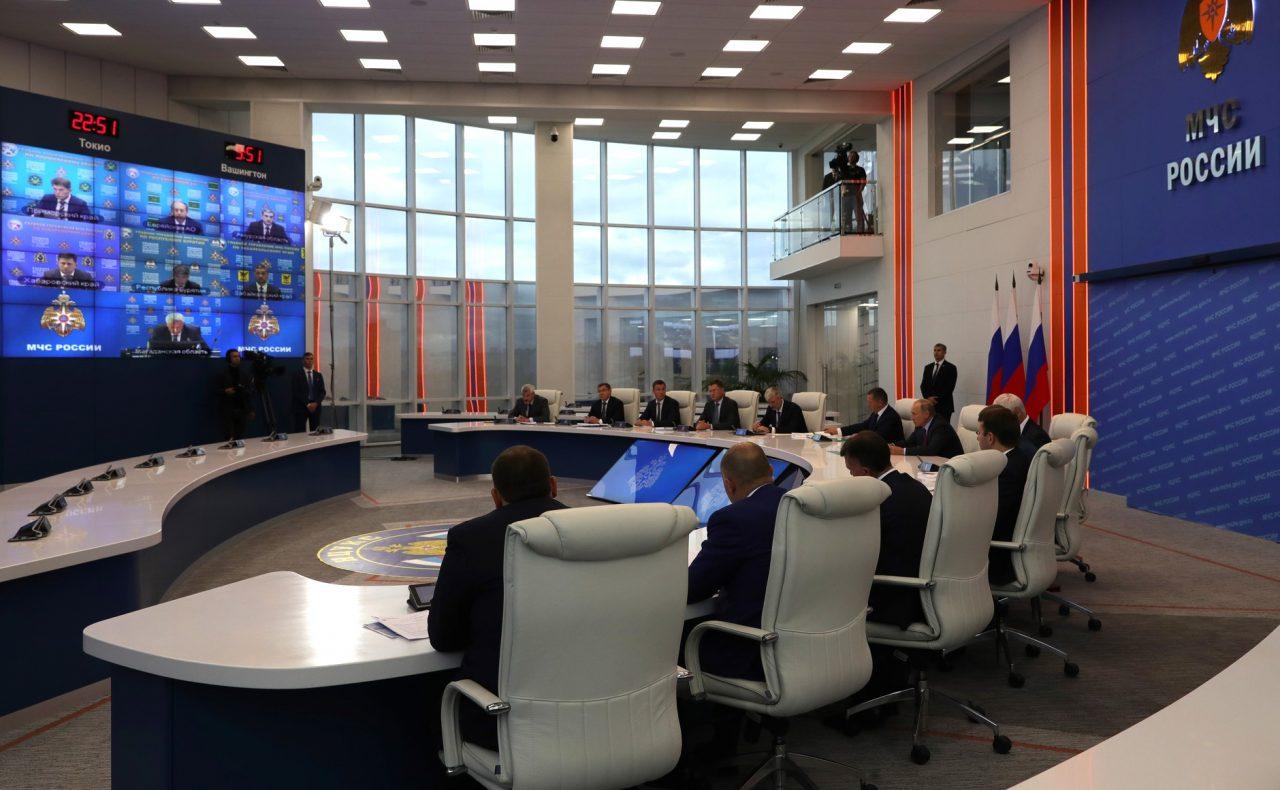 Левинталь объяснил Путину, почему в ЕАО до сих пор не начали обследовать затопленные дома