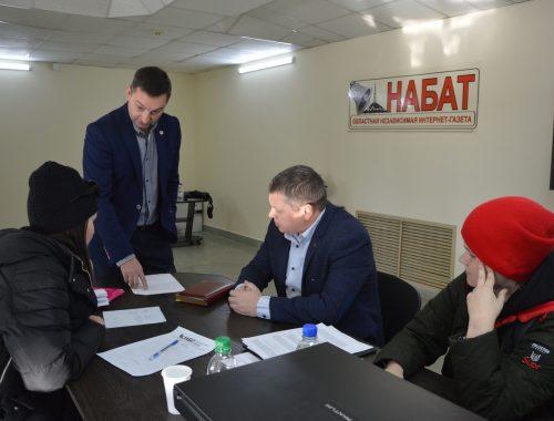 В редакции интернет-газеты «Набат» начала работу общественная приёмная