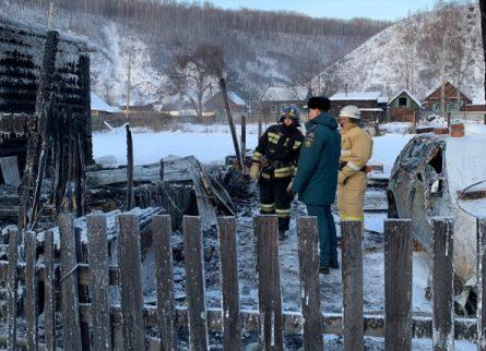 Пьяный житель Облучья заживо сгорел в своем доме